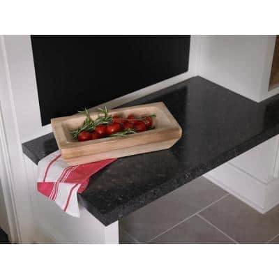 4 ft. x 8 ft. Laminate Sheet in Midnight Stone with Matte Finish
