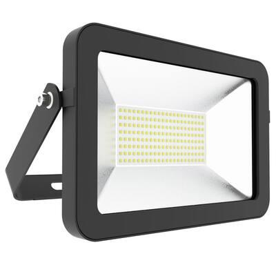 100-Watt 120-Degree Black Outdoor Integrated LED Flood Light