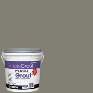 SimpleGrout #09 Natural Gray 1 Gal. Pre-Mixed Grout