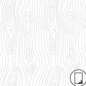 2 ft. x 4 ft. Laminate Sheet in RE-COVER Ebony Grain with Virtual Design Matte Finish