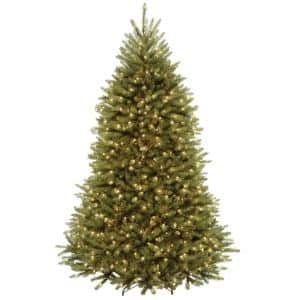 7 ft. Dunhill Fir Artificial Christmas Tree with Clear Lights