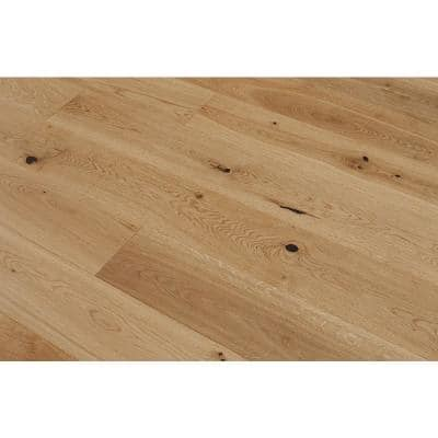 Euro White Oak Marigold 9/16 in. Thick x 8.66 in. W x Varying Length Engineered Hardwood Flooring (31.25 sq. ft./case)
