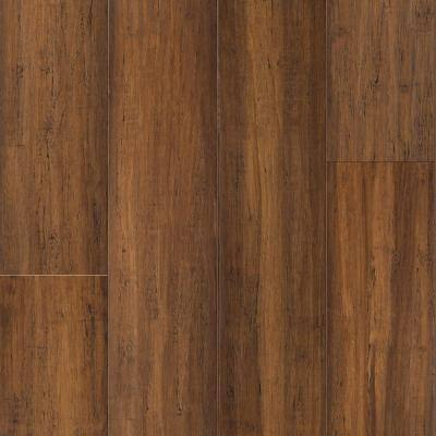 Bourbon Barrel 9/16 in. T x 5.31 in. W x 72.87 in. L W Click Bamboo Engineered Hardwood Flooring (21.50 sq. ft.)