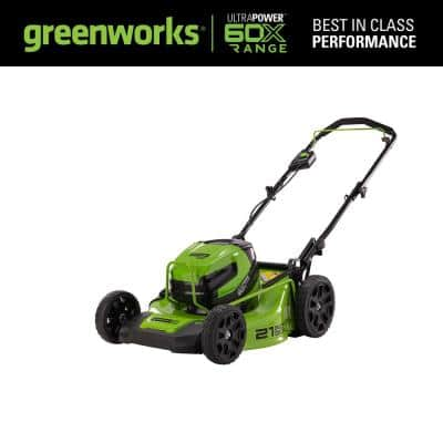 X-Range 21 in. 60-Volt Battery Walk Behind Push Mower, Battery Not Included