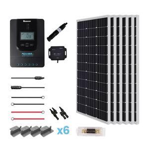 600-Watt 24-Volt Monocrystalline Off-Grid Solar Premium Kit