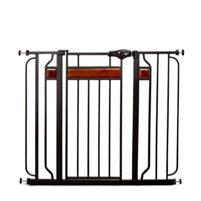 Home Accents 37 in. Extra-Tall Metal Walk-Through Safety Gate