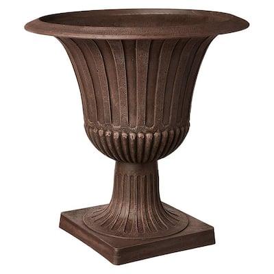 Worthington 20 in. x 21 in. Chocolate PSW Urn