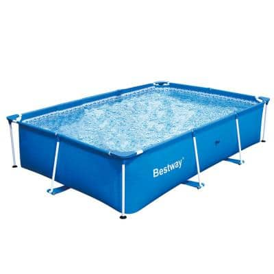 Rectangle Above Ground Pools Pools The Home Depot