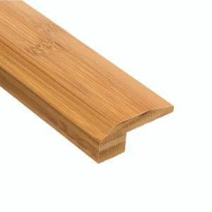 Horizontal Toast 1/2 in. Thick x 2-1/8 in. Wide x 47 in. Length Bamboo Carpet Reducer Molding