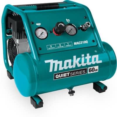 Quiet Series 2 Gal. 1 HP Oil-Free Electric Air Compressor