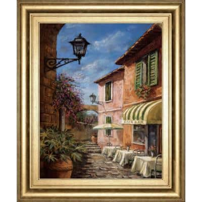 Through The Archway By Surridge M Framed Architecture Wall Art 26 in. x 22 in.