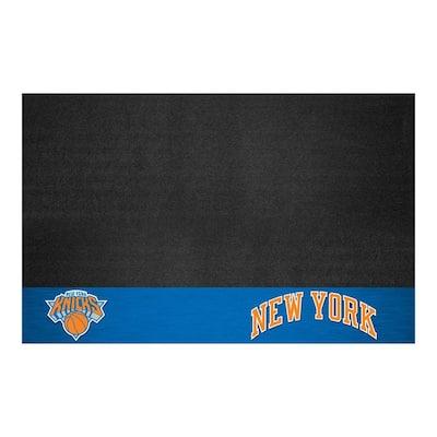 New York Knicks 26 in. x 42 in. Grill Mat