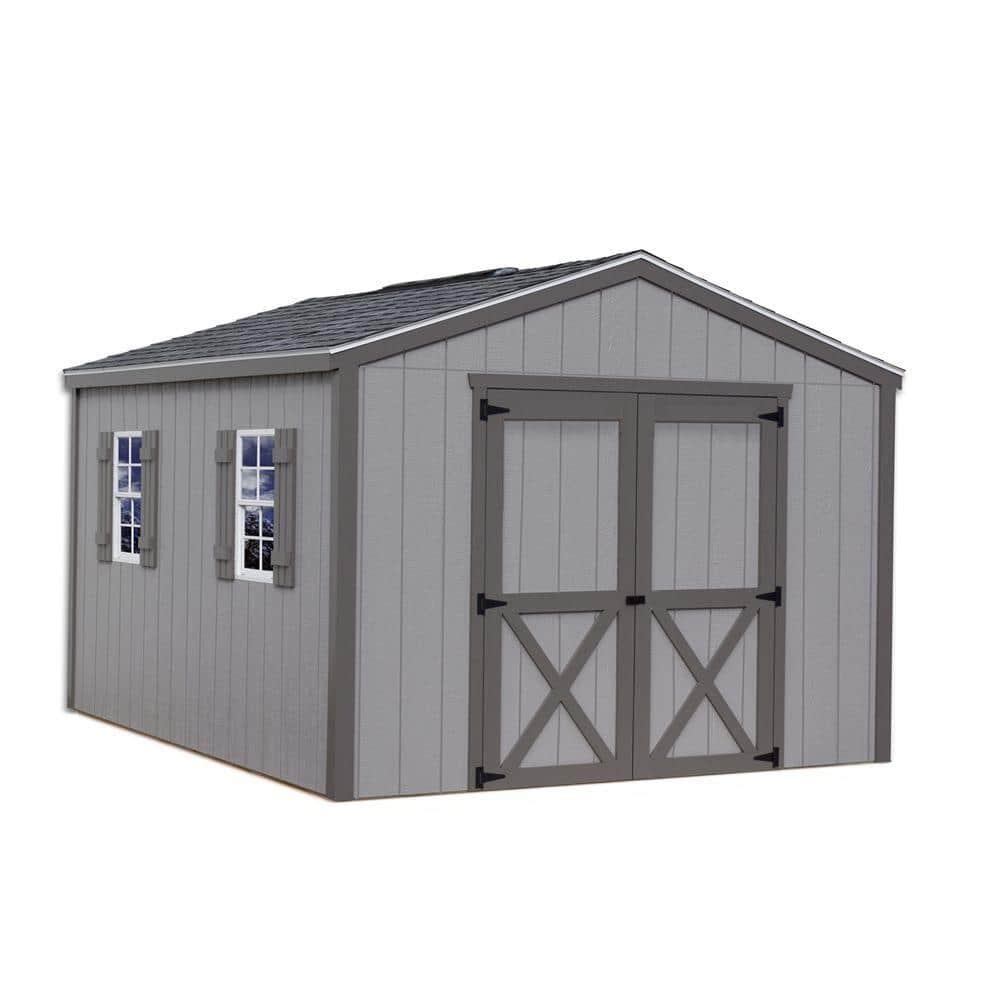 Best Barns Elm 10 Ft X 12 Wood