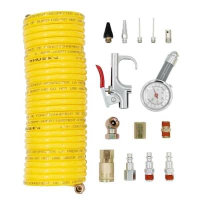 25 ft. Nylon Recoil Kit (15-Piece)