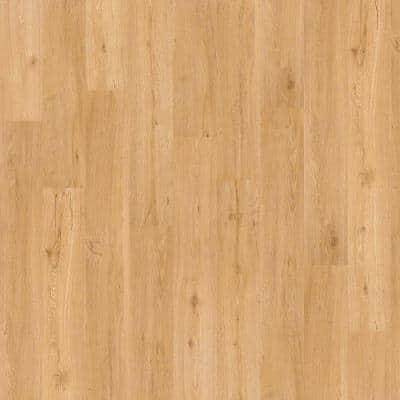 Wisteria 6 in. W Nougat Adhesive Luxury Vinyl Plank Flooring (53.93 sq. ft./case)