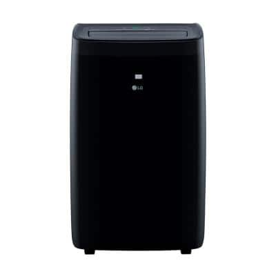 10,000 BTU 115-Volt Portable Air Conditioner LP1021BHSM with Heat, Dehumidifier Function and WiFi in Black