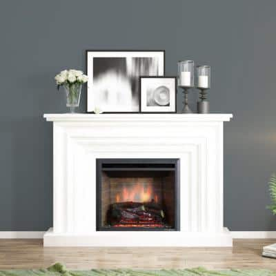 24.80 in. Ventless Electric Fireplace Insert