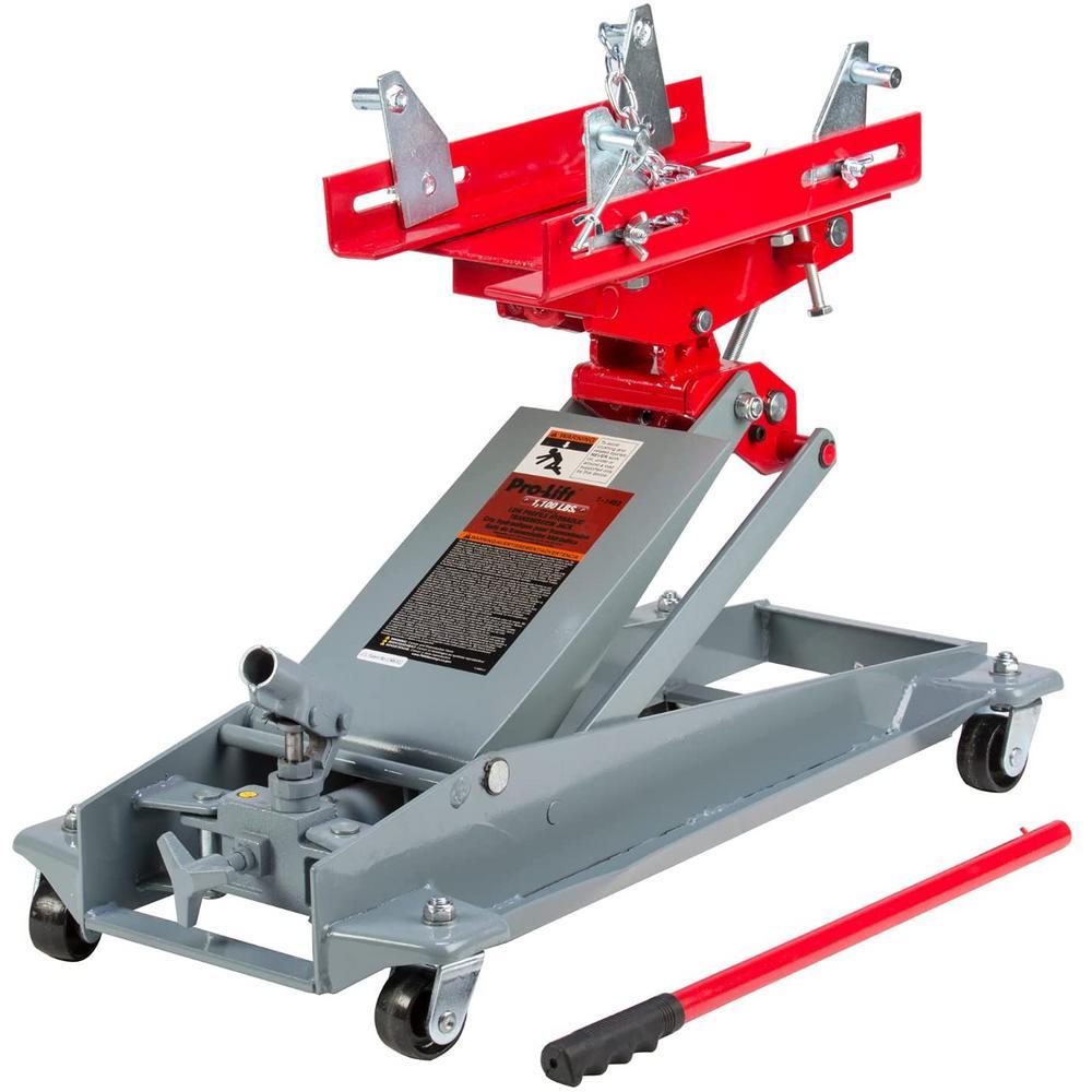 1100 lbs. Low Profile Hydraulic Transmission Jack