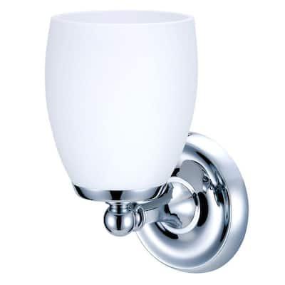 Designer II 1-Light Chrome Sconce