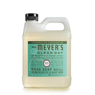 33 fl. oz. Basil Liquid Hand Soap Refill