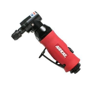 Composite 3/4 HP 1/4 in. Right Angle Die Grinder with Spindle Lock