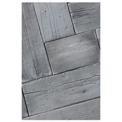 Barn Plank 15.5 in. x 9.75 in. x 2 in. Weathered Gray Concrete Paver (40-Piece/42 sq. ft./Pallet)
