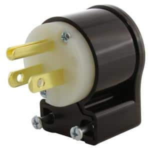 15 Amp 125-Volt NEMA 5-15P 3-Prong All Angles Elbow Household Male Plug