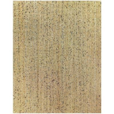 Bayonna Natural Tan 8 ft. x 10 ft. Solid Area Rug