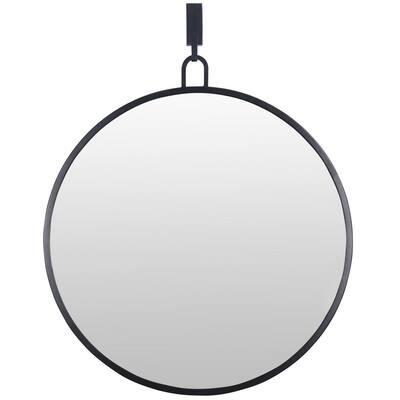 32 in. x 30 in. Modern Round Accent Mirror