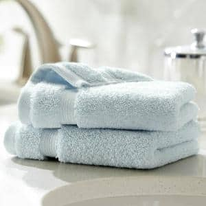 Egyptian Cotton Wash Cloth in Raindrop (Set of 2)