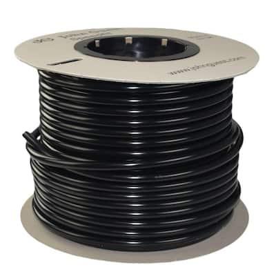 1/2 in. x 250 ft. Polyethylene Tubing Coil in Black