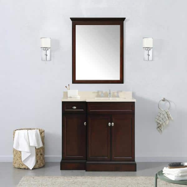 Home Decorators Collection Teagen 36 In, Home Depot Bathroom Furniture