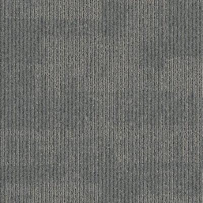 Second Nature Lava Patterned 24 in. x 24 in. Carpet Tile (24 Tiles/Case)