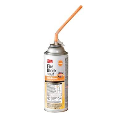 12 oz. Orange Fire Block FB-Foam Sealant (6-Pack)