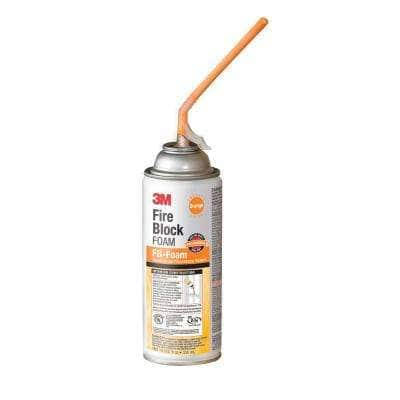 12 oz. Orange Fire Block FB-Foam Sealant (6-Pack)