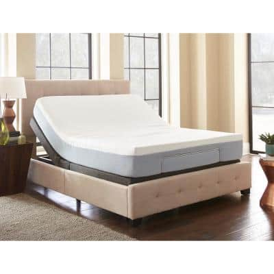 Queen Adjustable Foundation Base Bed with Remote Control
