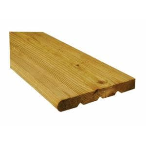 2 in. x 12 in. x 4 ft. Pressure-Treated Wood Step-Tread