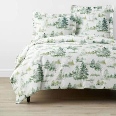 Company Cotton Lakeview Multicolored Bamboo Sateen Pillowcase (Set of 2)