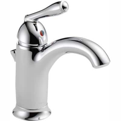 Claymore Single Hole Single-Handle Bathroom Faucet in Chrome