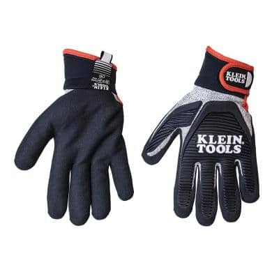 Journeyman Large Black Cut Resistant Gloves