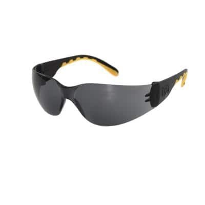 Safety Glasses Track Smoke Lens with Case