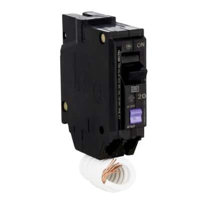 Q-Line 20 Amp Single-Pole Dual Function Arc Fault/GFCI Breaker