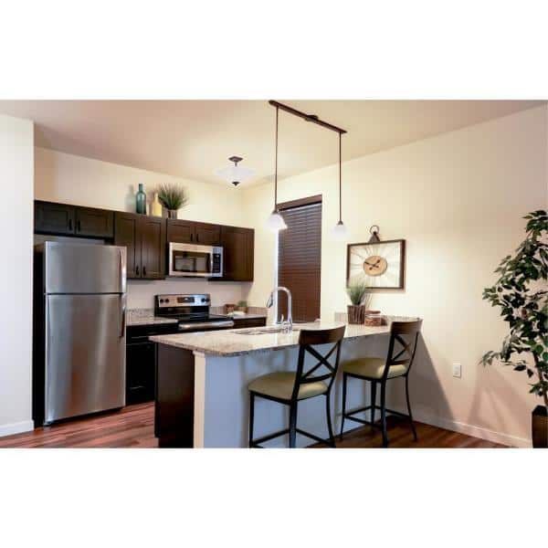 Design House Brookings Plywood Ready To Assemble Shaker 30x12x15 In 2 Door Wall Kitchen Cabinet In Espresso 562223 The Home Depot