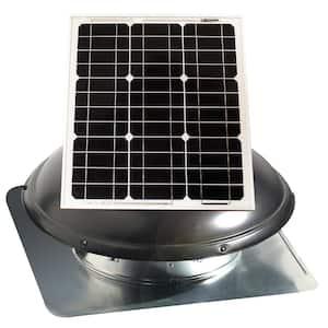 1820 CFM 25-Watt Solar Powered Attic Fan