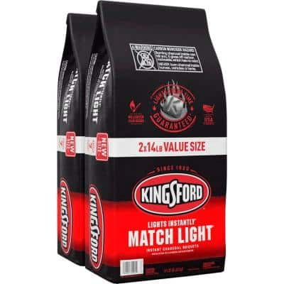 14 lbs. Match Light Instant Charcoal Briquettes (2-Pack)