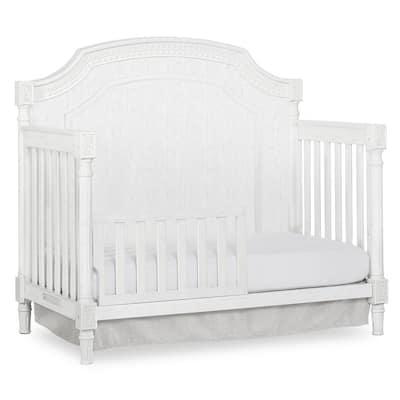 Julienne Brush White Toddler Rail