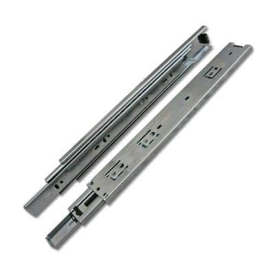 28 in. Side Mount Over Extension Ball Bearing Drawer Slides