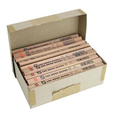Red Lead FSC 100% Carpenter Pencil Bulk (72-Pack, Boxed)