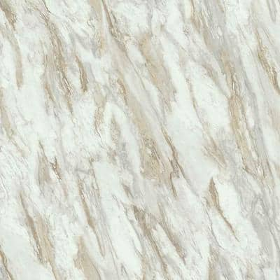 5 ft. x 12 ft. Laminate Sheet inDrama Marble with Premium Textured Gloss Finish