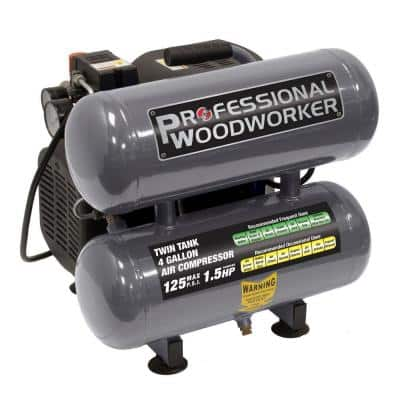 4 Gal. Pro Duty Twin Stack Oil-Lube Air Compressor